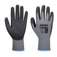PU Palm Glove (GreyBk / Small / R)