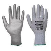 PU Palm Glove (Grey / XSmall / R)