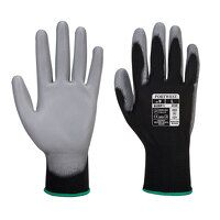 PU Palm Glove (BkGrey / Medium / R)