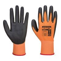 PU Palm Glove (OrBk / Large / R)