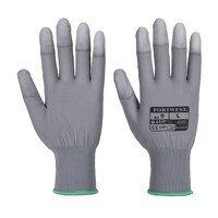 PU Fingertip Glove (Grey / Large / R)