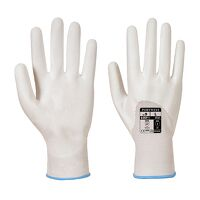 PU Ultra Glove (White / Large / R)