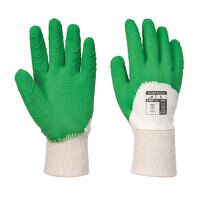 Latex Open Back Crinkle Glove (WhGrn / XXL / R)