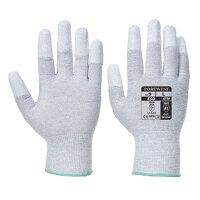 Antistatic PU Fingertip Glove (Grey / Small / R)
