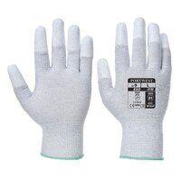 Antistatic PU Fingertip Glove (Grey / Large / R)