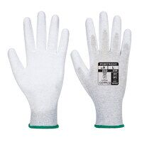 Antistatic PU Palm Glove (Grey / XL / R)