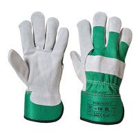 Premium Chrome Rigger Glove (Green / XL / R)