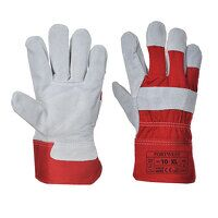 Premium Chrome Rigger Glove (Red / XL / R)