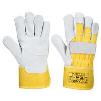 Premium Chrome Rigger Glove (Yellow / XL / R)