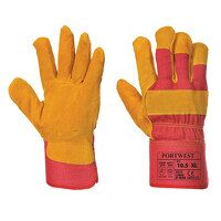 Fleece Lined Rigger Glove (Red / XL / R)