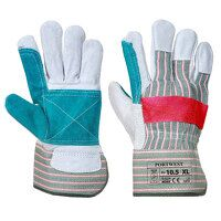 Classic Double Palm Rigger Glove (Green / XL / R)