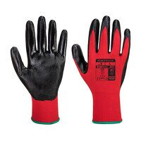 Flexo Grip Nitrile Glove (RedBk / Medium / R)