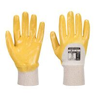 Nitrile Light Knitwrist (Yellow / Small / R)
