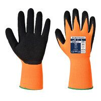 Hi-Vis Grip Glove - Latex (OrBk / Small / B)