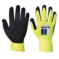 Hi-Vis Grip Glove - Latex (Yellow / Large / R)