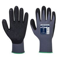 DermiFlex Plus Glove (GreyBk / Large / R)