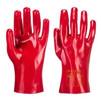 PVC Gauntlet (Red / XL / R)