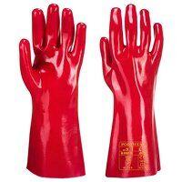 PVC Gauntlet (Red / XL / R)