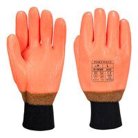 Weatherproof Hi - Vis Glove (Orange / XL / R)