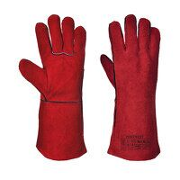 Welders Gauntlet (Red / 3 XL / R)