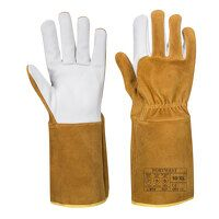 TIG Ultra Welding Gauntlet (Brown / Large / R)