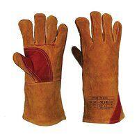 Reinforced Welding Gauntlet (Brown / XL ...
