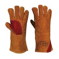 Reinforced Welding Gauntlet (Brown / XL / R)