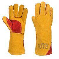 Reinforced Winter Welding Gauntlet (Brown / XL / R...