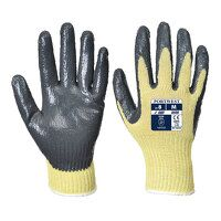 Cut 3 Nitrile Grip Glove (YeGrey / Large / Y)