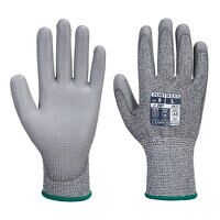 MR Cut PU Palm Glove (GreyGrey / Large /...
