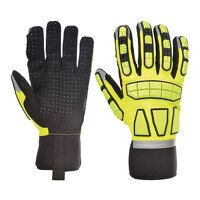 Safety Impact Glove Unlined (Yellow / Large / R)