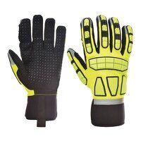 Safety Impact Glove Unlined (Yellow / La...