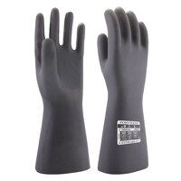 Neoprene Chemical Gauntlet (Black / Small / R)