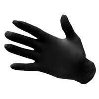 Powder Free Nitrile Disposable Glove (Black / Medi...