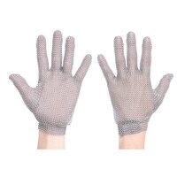 Chainmail Glove (Silver / Large / R)