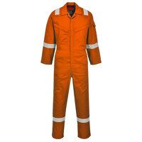 Araflame Silver Coverall (Orange / 38 / R)