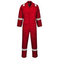 Araflame Silver Coverall (Red / 54 / R)