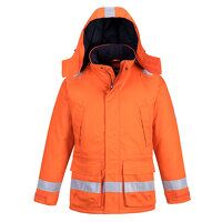 Araflame Insulated Winter Jacket  (Orange / Large ...