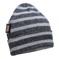 Striped Insulated Knit Cap (GreyGrey / R)