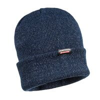 Reflective Knit Cap (Navy / R)