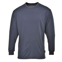 Thermal Baselayer Top (Charcoal / Large / A)