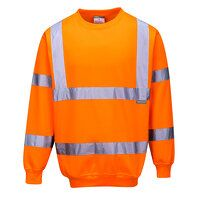 Hi-Vis Sweatshirt (Orange / 5XL / R)