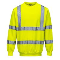 Hi-Vis Sweatshirt (Yellow / Medium / R)