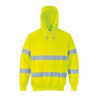 Hi-Vis Hooded Sweatshirt (Yellow / XXL / R)