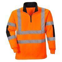Xenon Rugby Shirt (Orange / XL / R)