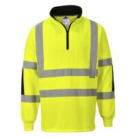 Xenon Rugby Shirt (Yellow / 4XL / R)