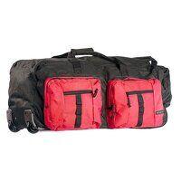 Multi-Pocket Travel Bag (Black / R)