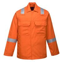 Bizweld Iona Jacket  (Orange / 3 XL / R)