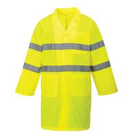 Hi-Vis Coat (Yellow / Large / R)