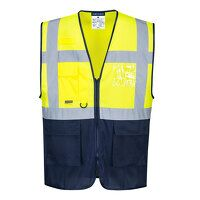 Hi-Vis Two Tone MeshAir Executive Vest (YeNa / XL ...